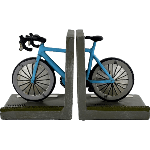 Bike Shelf Tidy Book Ends